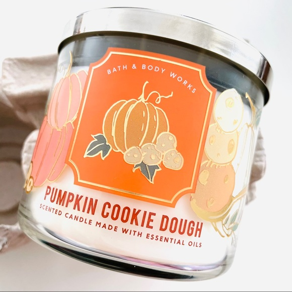 Bath and Body Works Pumpkin Cookie Dough Candle